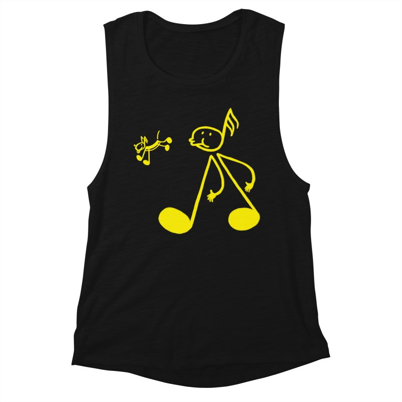 Whistle walker Women's Muscle Tank by biernatt's Artist Shop