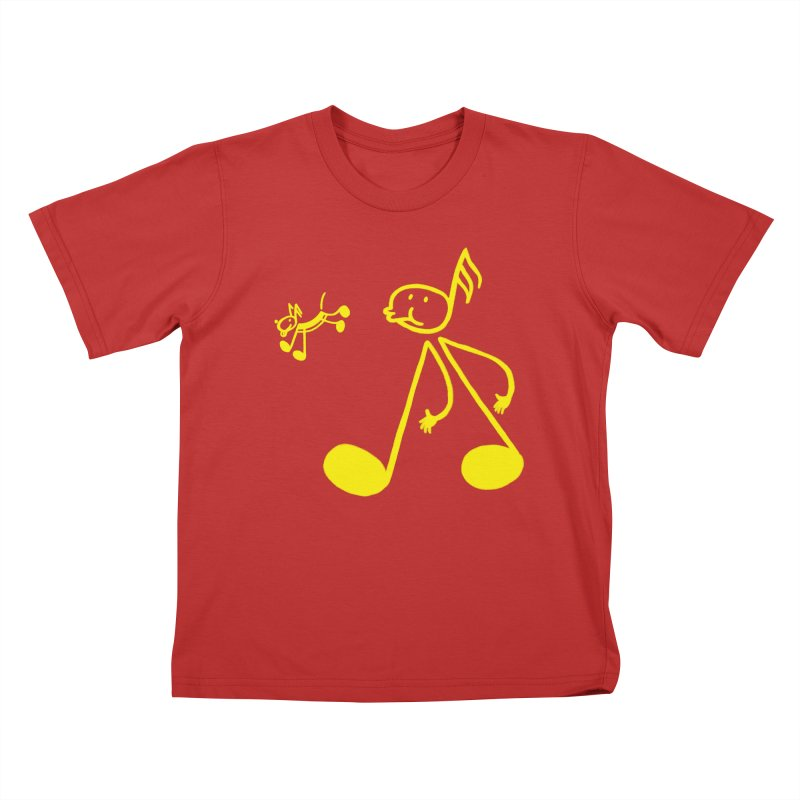 Whistle walker Kids T-Shirt by biernatt's Artist Shop