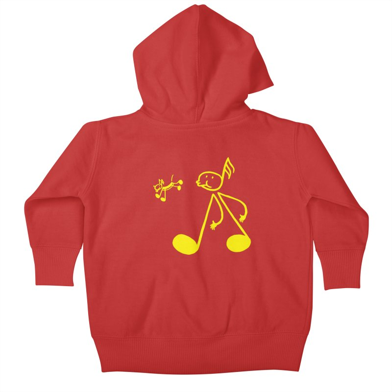 Whistle walker Kids Baby Zip-Up Hoody by biernatt's Artist Shop