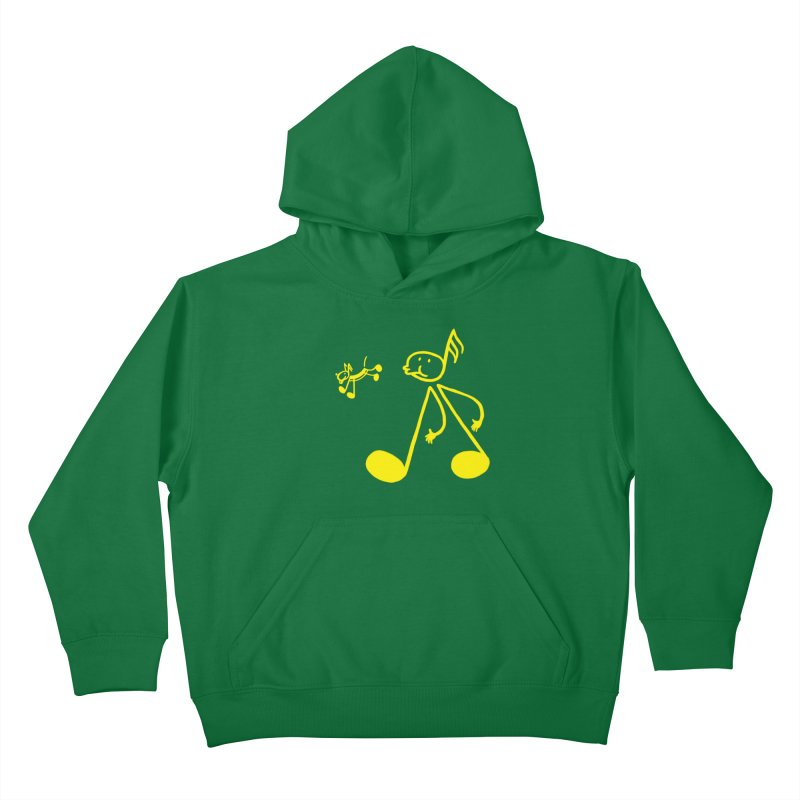 Whistle walker Kids Pullover Hoody by biernatt's Artist Shop