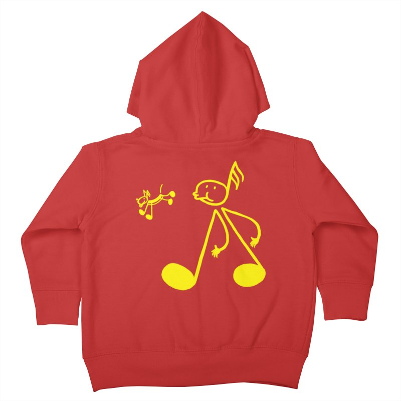 Whistle walker Kids Toddler Zip-Up Hoody by biernatt's Artist Shop
