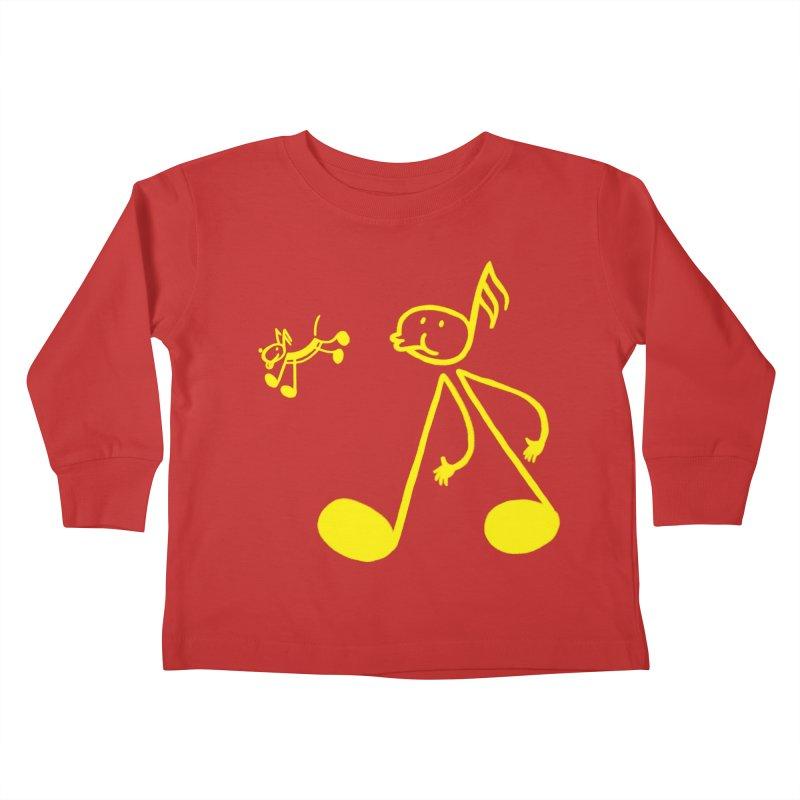 Whistle walker Kids Toddler Longsleeve T-Shirt by biernatt's Artist Shop