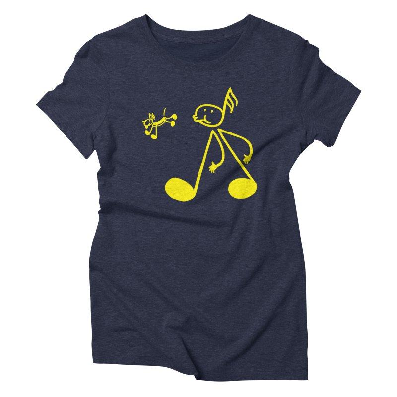 Whistle walker Women's Triblend T-Shirt by biernatt's Artist Shop