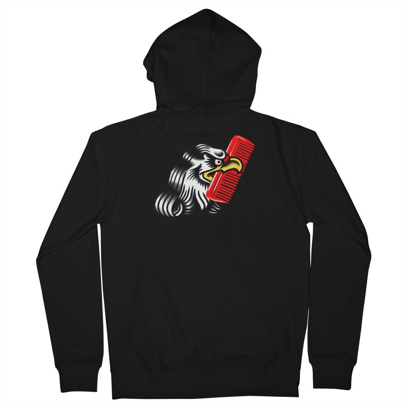 Boldly not bald 2 Men's Zip-Up Hoody by biernatt's Artist Shop