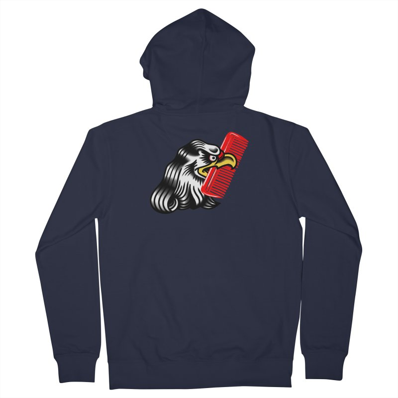 Boldly not bald 2 Men's French Terry Zip-Up Hoody by biernatt's Artist Shop