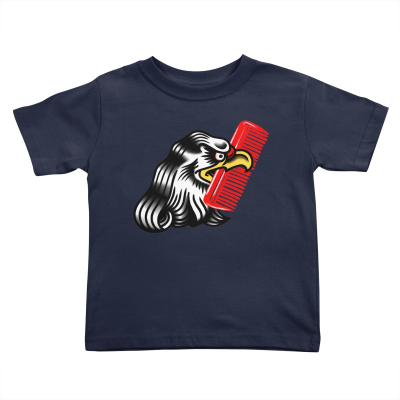 Boldly not bald 2 Kids Toddler T-Shirt by biernatt's Artist Shop