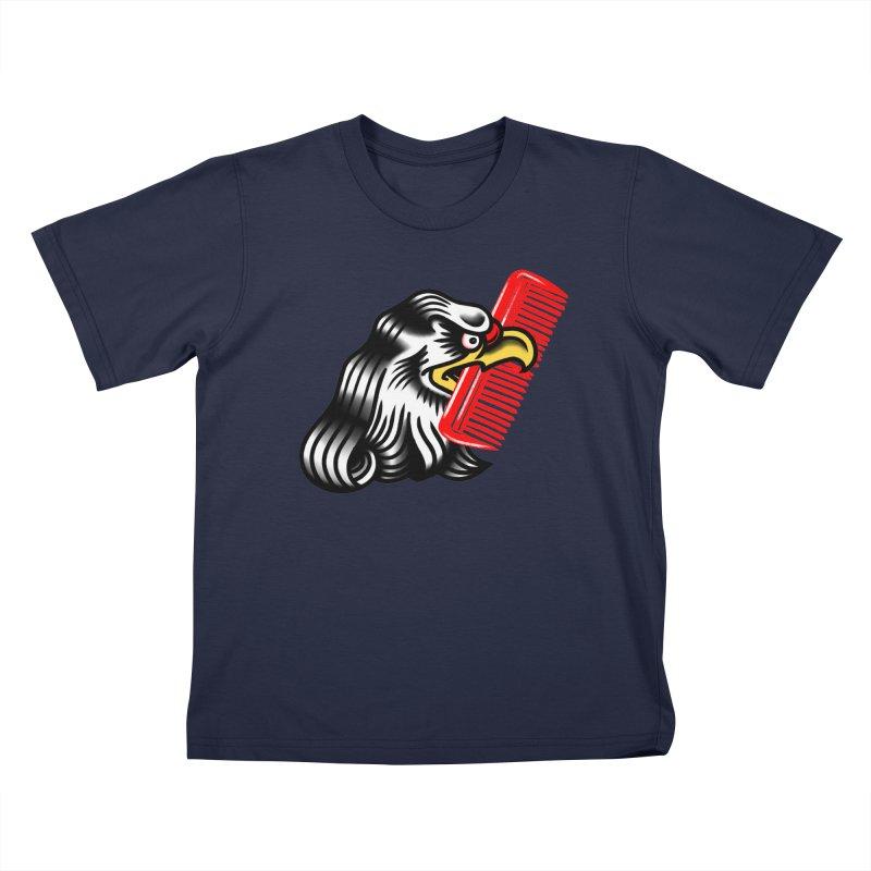 Boldly not bald 2 Kids T-Shirt by biernatt's Artist Shop