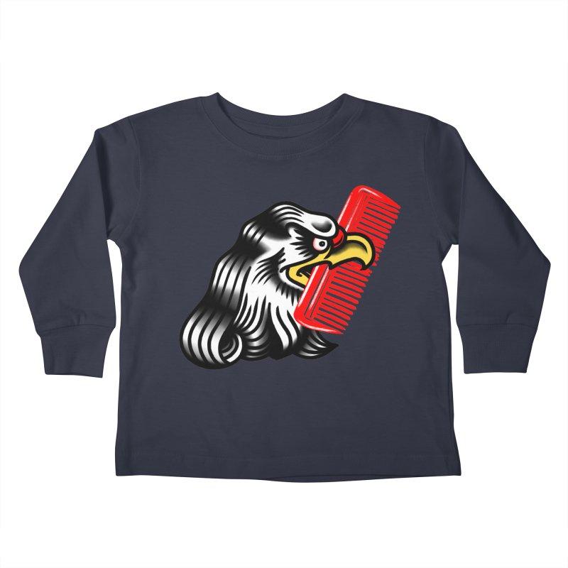 Boldly not bald 2 Kids Toddler Longsleeve T-Shirt by biernatt's Artist Shop