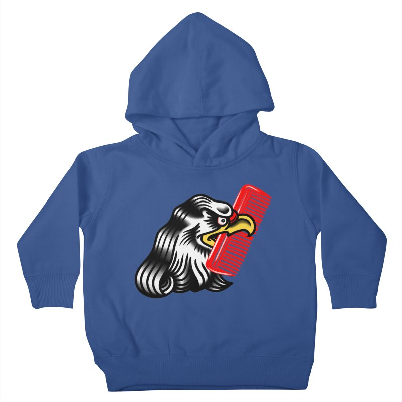 Boldly not bald 2 Kids Toddler Pullover Hoody by biernatt's Artist Shop