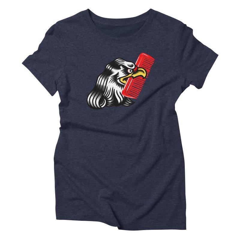 Boldly not bald 2 Women's Triblend T-Shirt by biernatt's Artist Shop