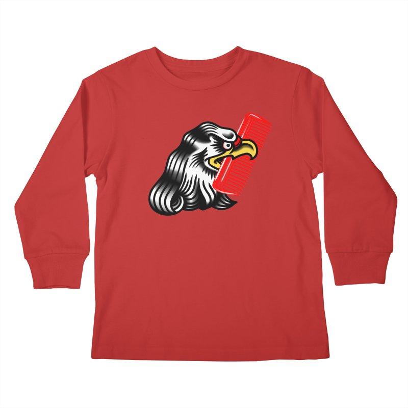 Boldly not bald 2 Kids Longsleeve T-Shirt by biernatt's Artist Shop