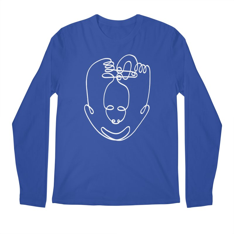 Busy hands idle mind 2 Men's Regular Longsleeve T-Shirt by biernatt's Artist Shop
