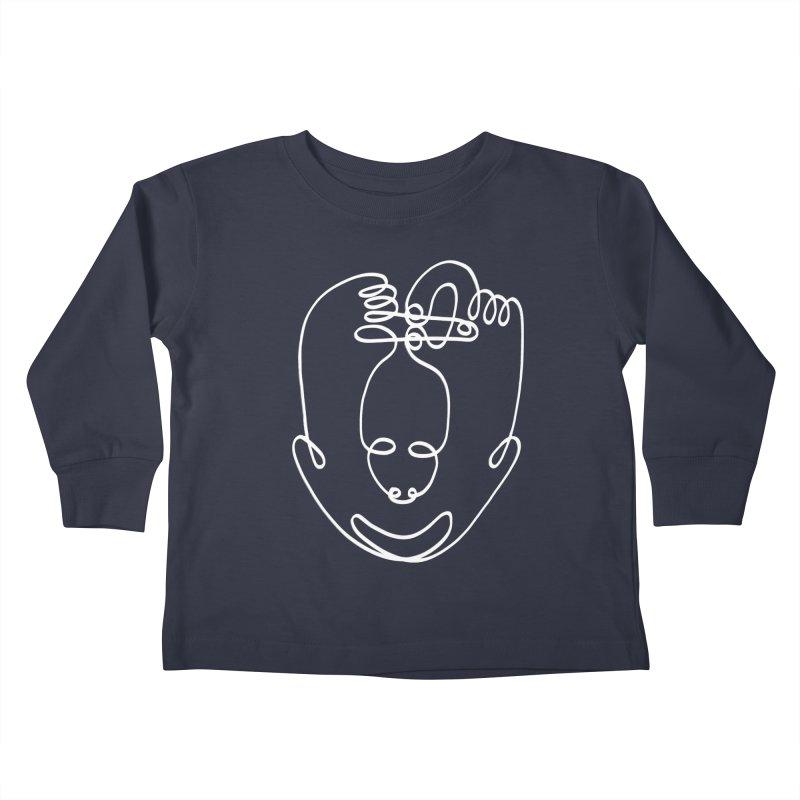 Busy hands idle mind 2 Kids Toddler Longsleeve T-Shirt by biernatt's Artist Shop