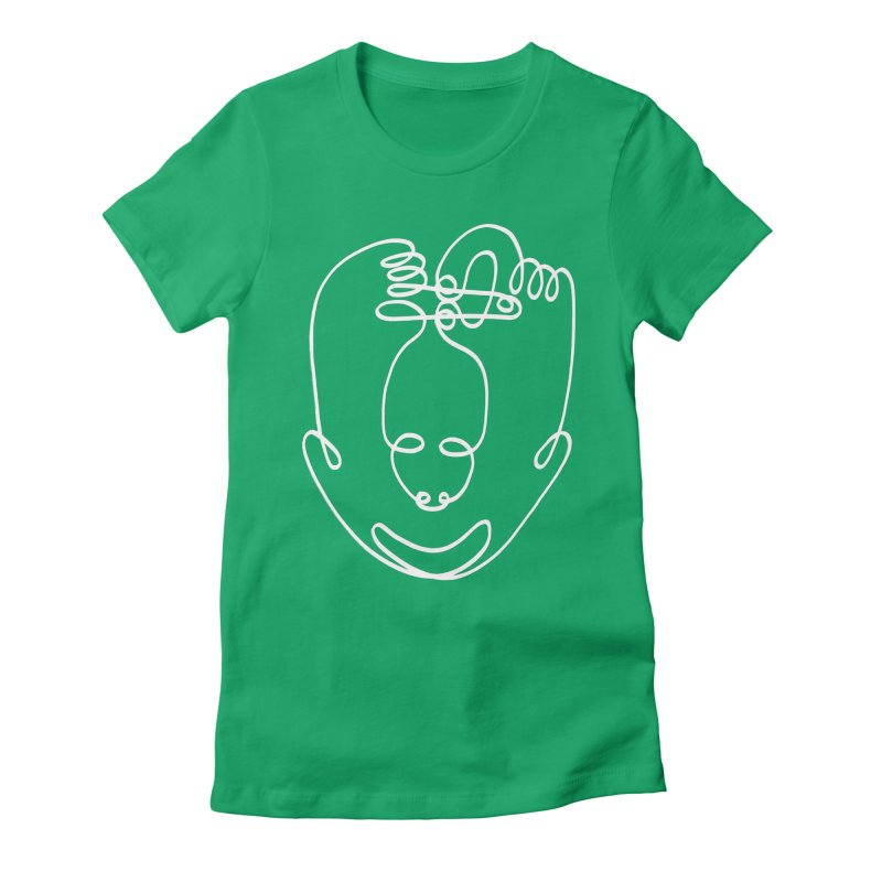 Busy hands idle mind 2 Women's Fitted T-Shirt by biernatt's Artist Shop