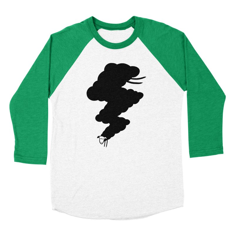 Minor BolT Women's Baseball Triblend T-Shirt by biernatt's Artist Shop