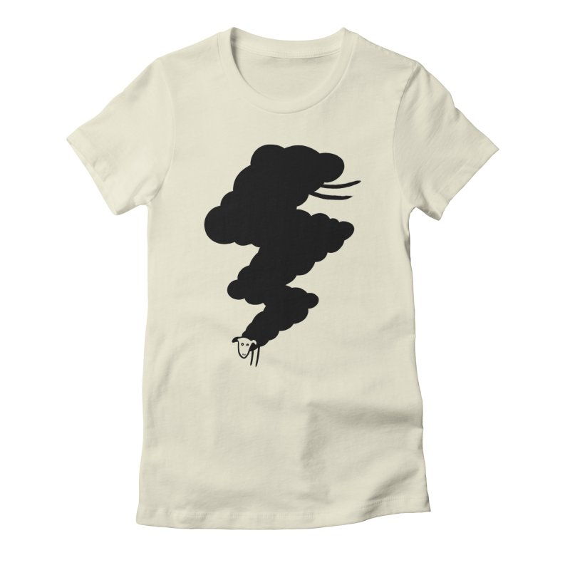 Minor BolT Women's Fitted T-Shirt by biernatt's Artist Shop