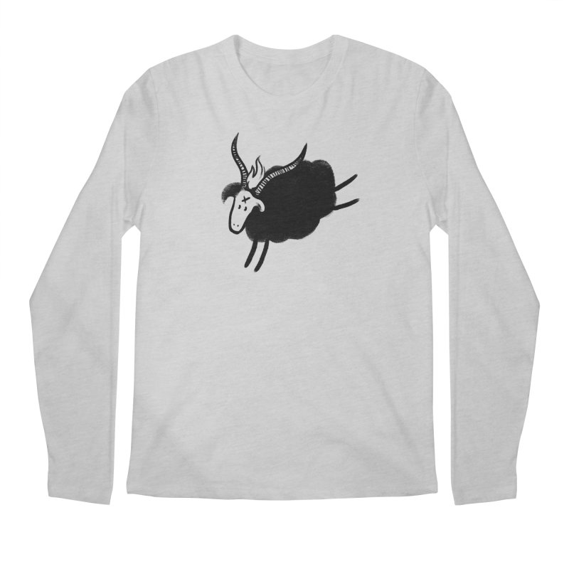 Minor baaphomeT Men's Regular Longsleeve T-Shirt by biernatt's Artist Shop