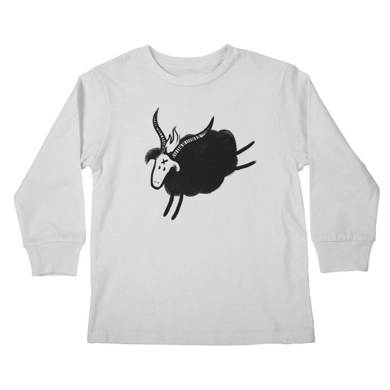 Minor baaphomeT Kids Longsleeve T-Shirt by biernatt's Artist Shop