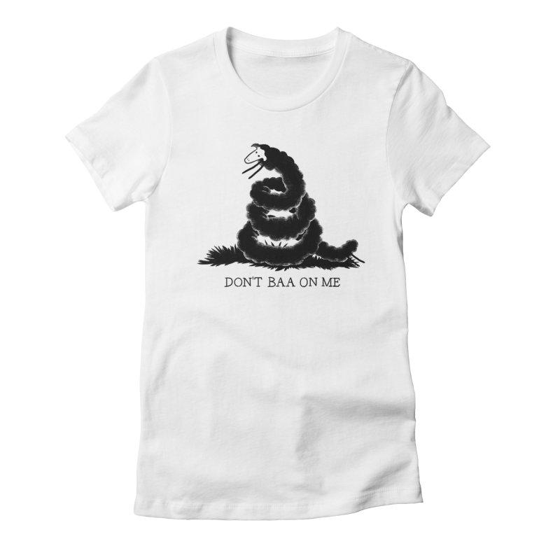 Minor don'T Women's Fitted T-Shirt by biernatt's Artist Shop