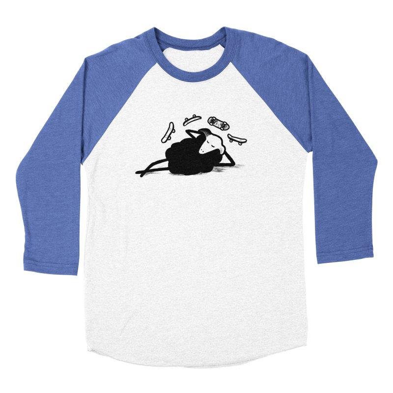 Minor skaTe Men's Baseball Triblend T-Shirt by biernatt's Artist Shop