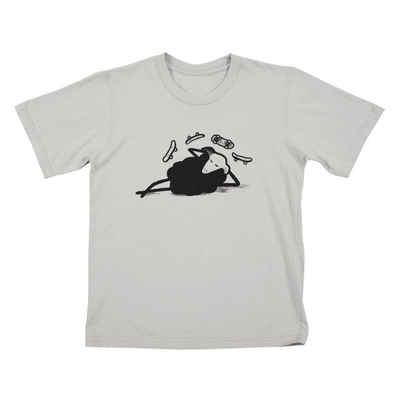 Minor skaTe Kids T-Shirt by biernatt's Artist Shop
