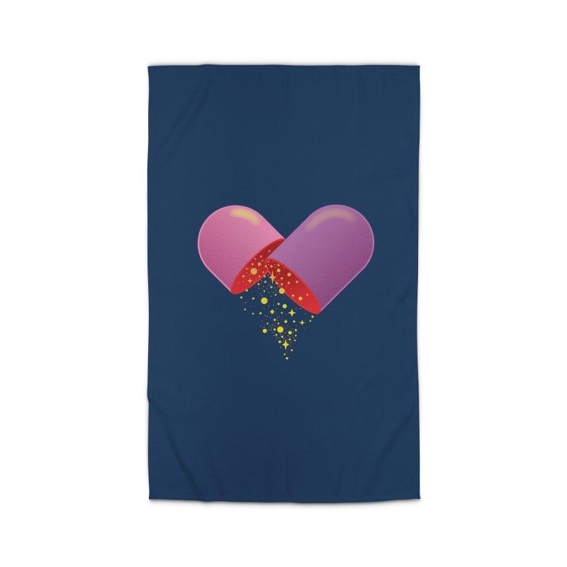 Take the feel pill Home Rug by biernatt's Artist Shop