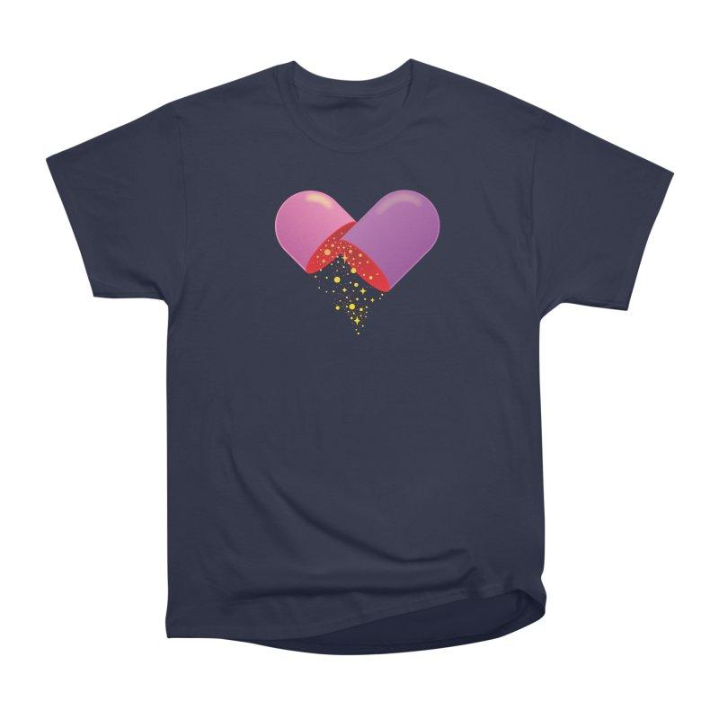Take the feel pill Men's Heavyweight T-Shirt by biernatt's Artist Shop