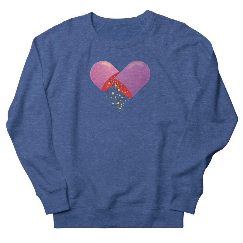 Take the feel pill Men's French Terry Sweatshirt by biernatt's Artist Shop