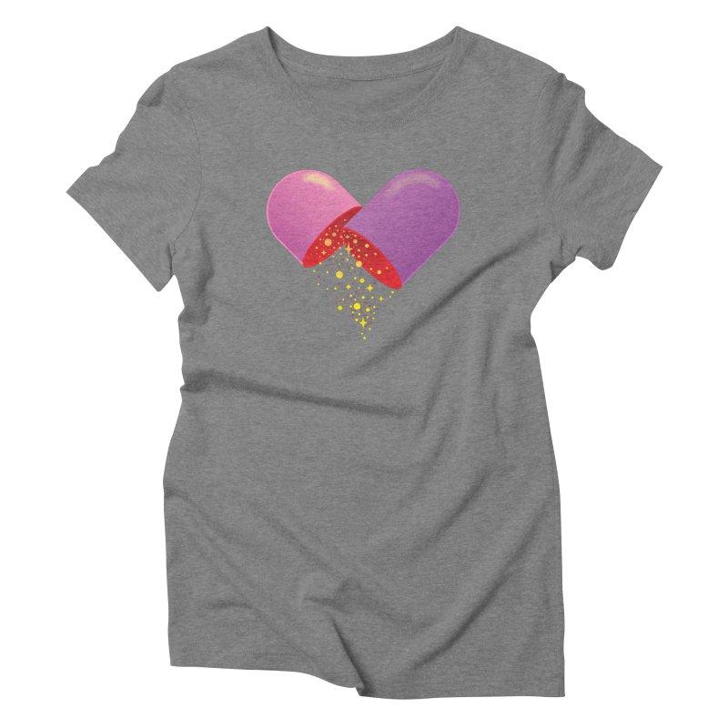 Take the feel pill Women's Triblend T-Shirt by biernatt's Artist Shop