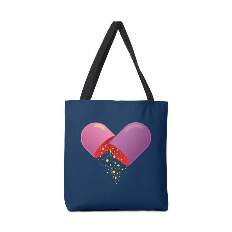 Take the feel pill Accessories Bag by biernatt's Artist Shop