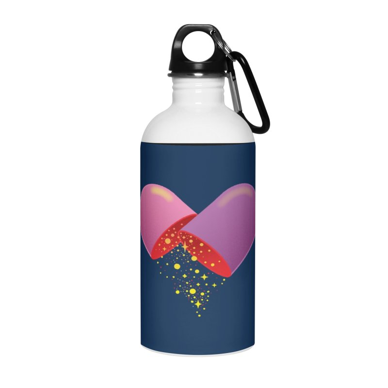 Take the feel pill Accessories Water Bottle by biernatt's Artist Shop