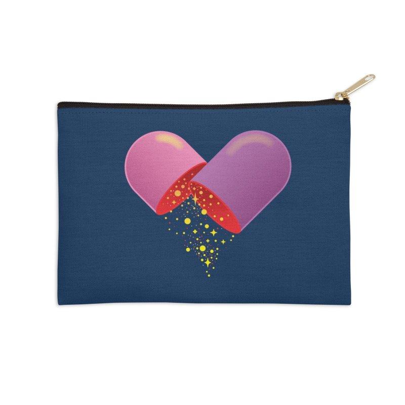 Take the feel pill Accessories Zip Pouch by biernatt's Artist Shop
