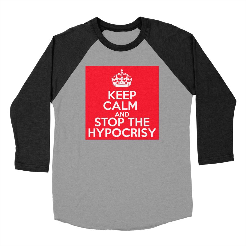 Keep Calm And Stop The Hypocrisy Men's Longsleeve T-Shirt by The Official Store of the Big Brother Gossip Show