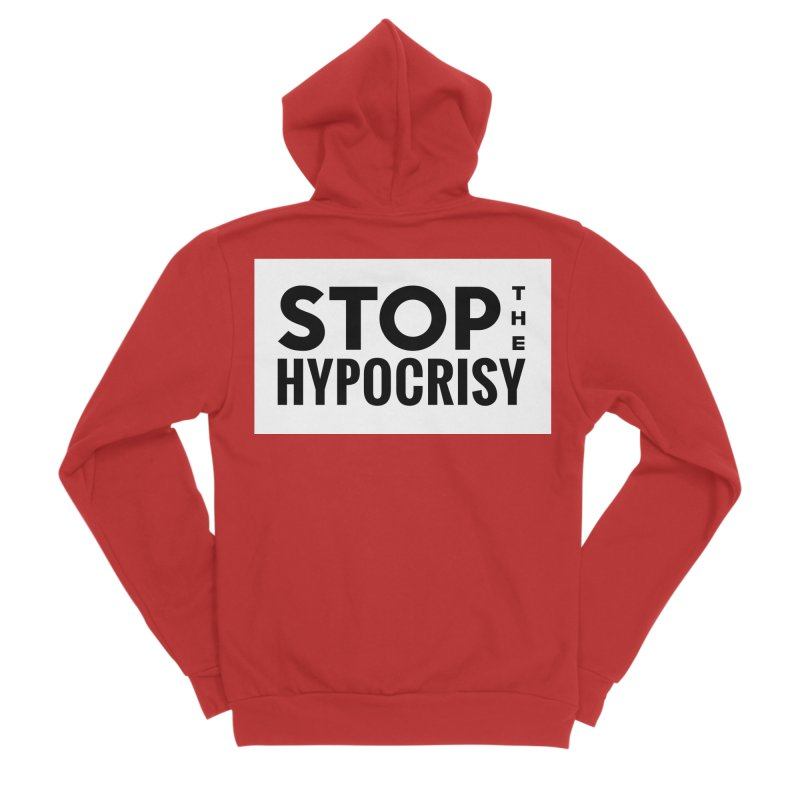 Stop The Hypocrisy! Men's Zip-Up Hoody by The Official Store of the Big Brother Gossip Show