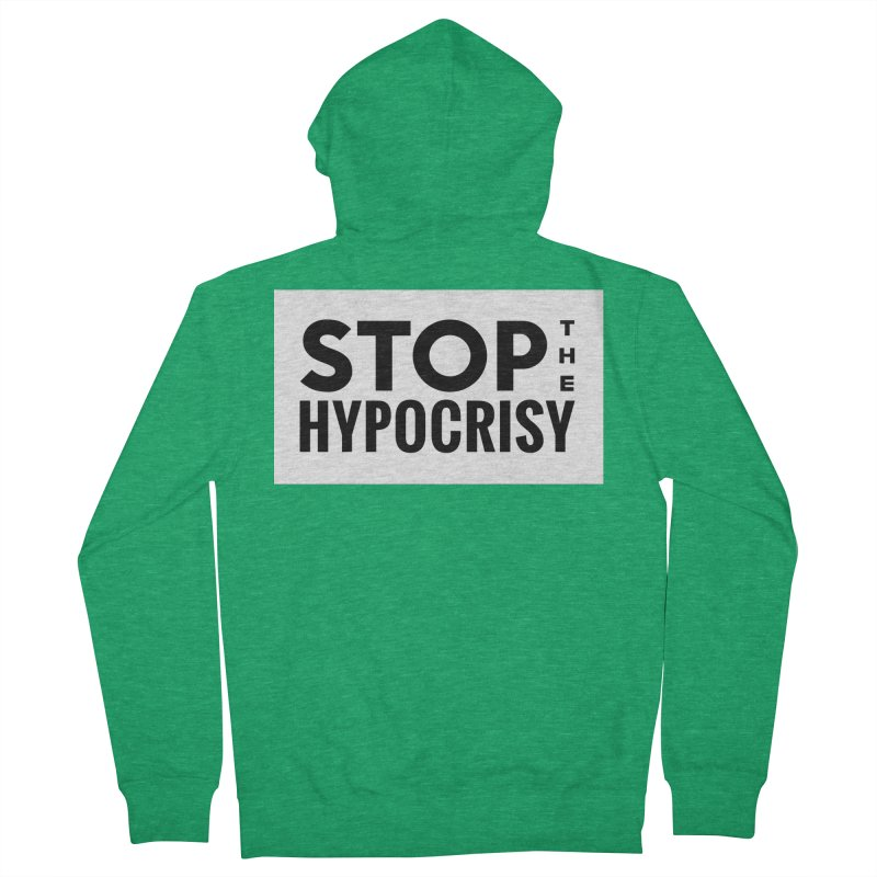 Stop The Hypocrisy! Women's Zip-Up Hoody by The Official Store of the Big Brother Gossip Show