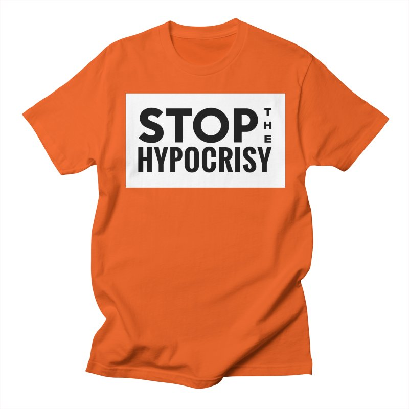 Stop The Hypocrisy! Men's T-Shirt by The Official Store of the Big Brother Gossip Show