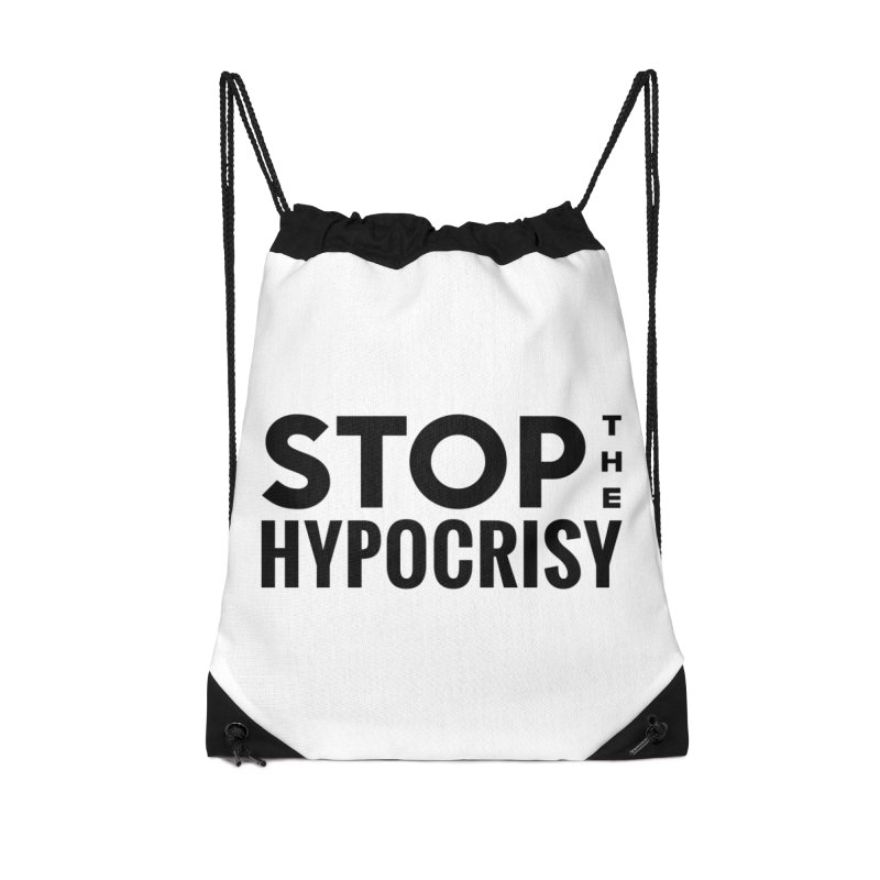 Stop The Hypocrisy! Accessories Bag by The Official Store of the Big Brother Gossip Show