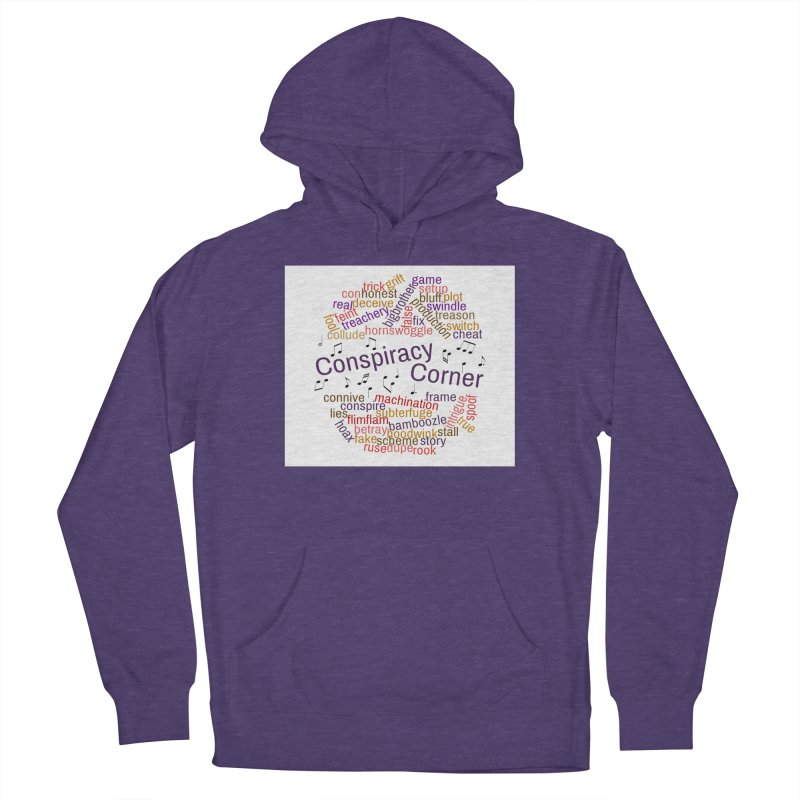Conspiracy Corner Women's French Terry Pullover Hoody by The Official Store of the Big Brother Gossip Show