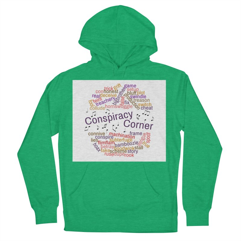 Conspiracy Corner Men's French Terry Pullover Hoody by The Official Store of the Big Brother Gossip Show