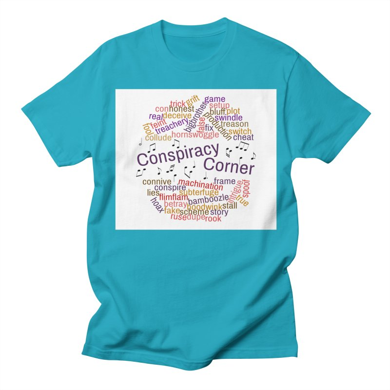Conspiracy Corner Men's T-Shirt by The Official Store of the Big Brother Gossip Show