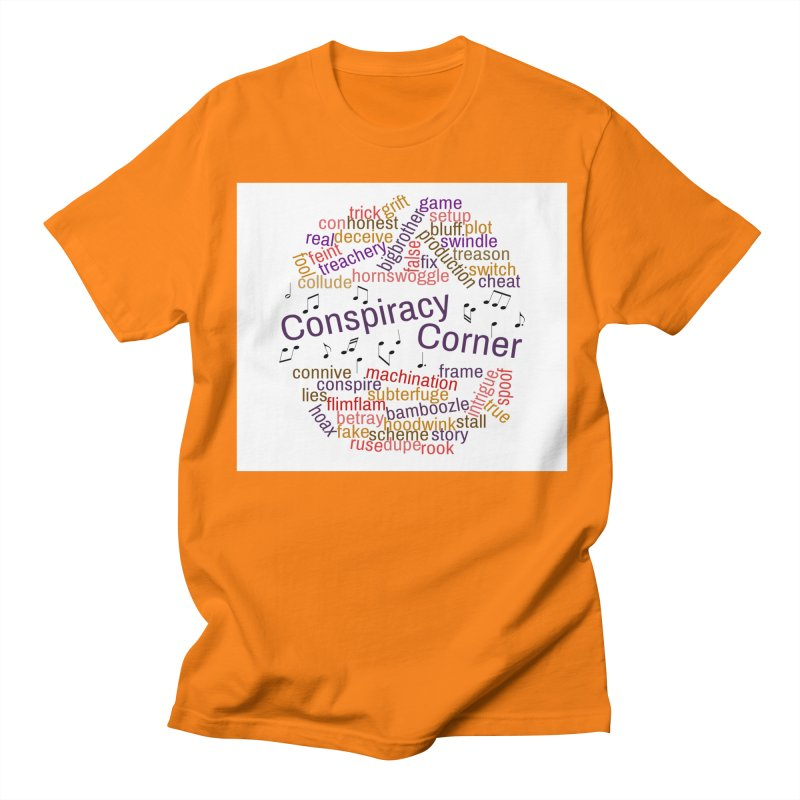 Conspiracy Corner Women's Regular Unisex T-Shirt by The Official Store of the Big Brother Gossip Show