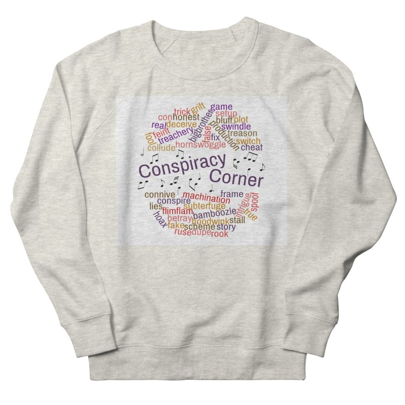 Conspiracy Corner Men's Sweatshirt by The Official Store of the Big Brother Gossip Show