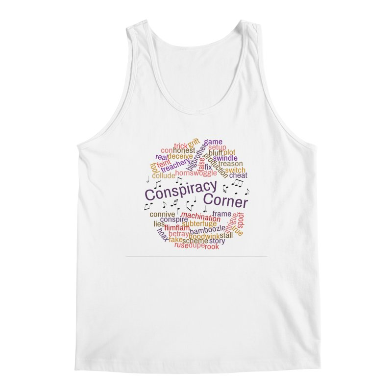 Conspiracy Corner Men's Regular Tank by The Official Store of the Big Brother Gossip Show