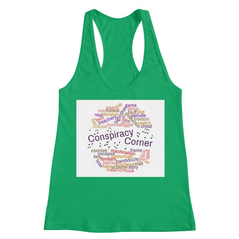 Conspiracy Corner Women's Tank by The Official Store of the Big Brother Gossip Show