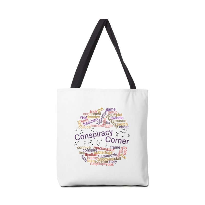 Conspiracy Corner Accessories Tote Bag Bag by The Official Store of the Big Brother Gossip Show