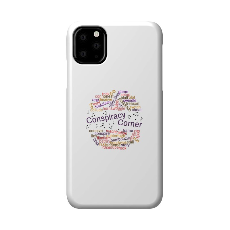 Conspiracy Corner Accessories Phone Case by The Official Store of the Big Brother Gossip Show