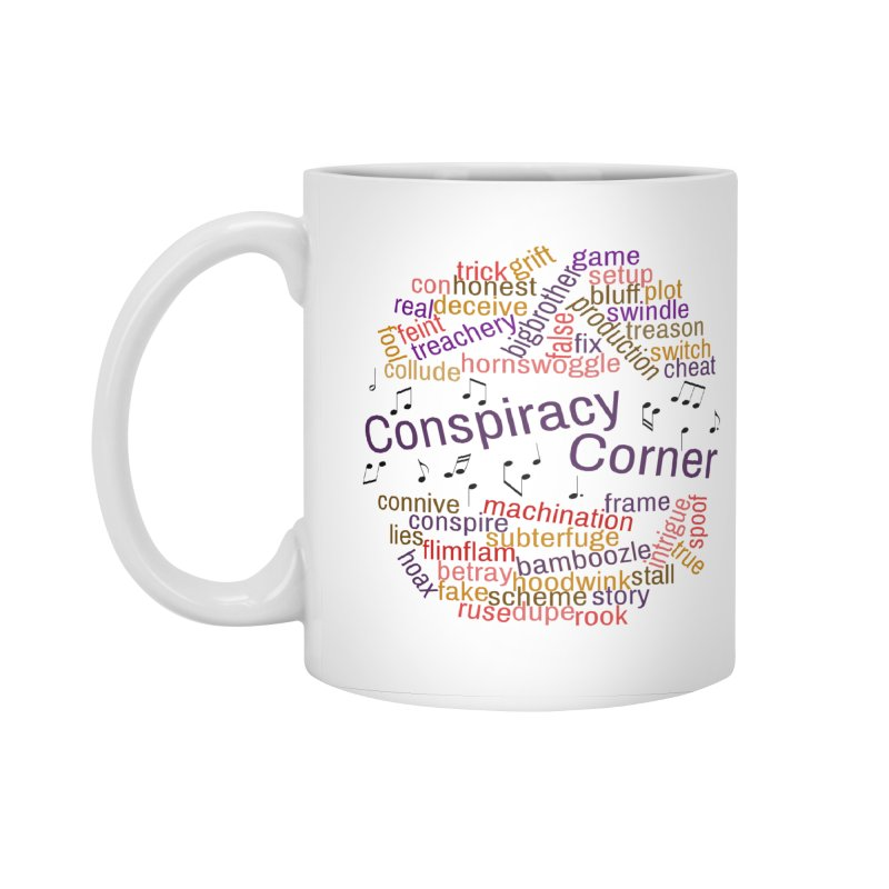 Conspiracy Corner Accessories Standard Mug by The Official Store of the Big Brother Gossip Show