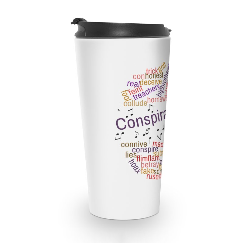 Conspiracy Corner Accessories Travel Mug by The Official Store of the Big Brother Gossip Show