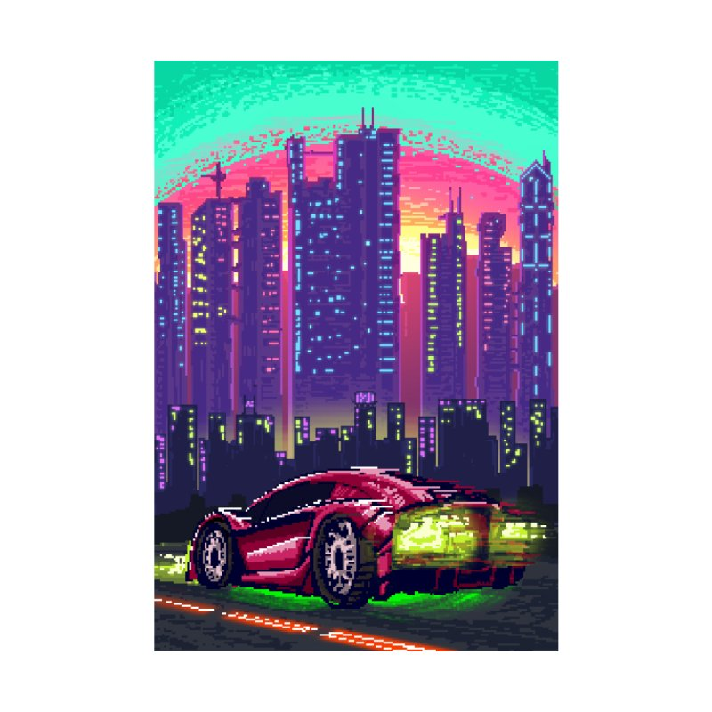Cyberpunk Drive by Tom Bacon's Artist Shop