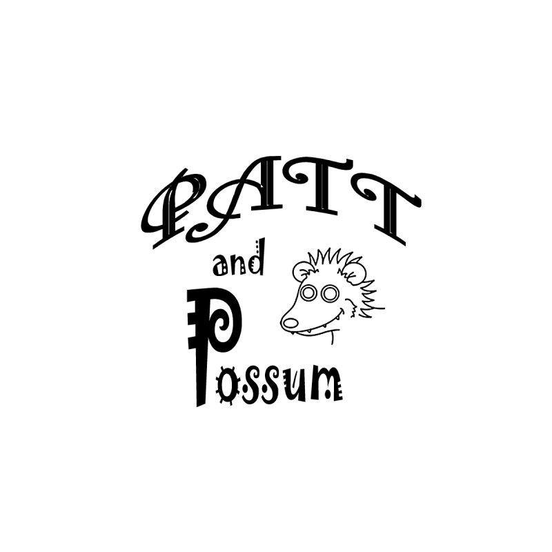 Patt & Possum Logo Men's T-Shirt by bigfiddleshow's Artist Shop